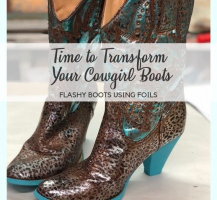 Transform Your Cowgirl Boots Title Photo