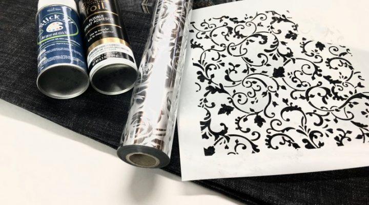 DIY: Custom Foiled Jean Jacket