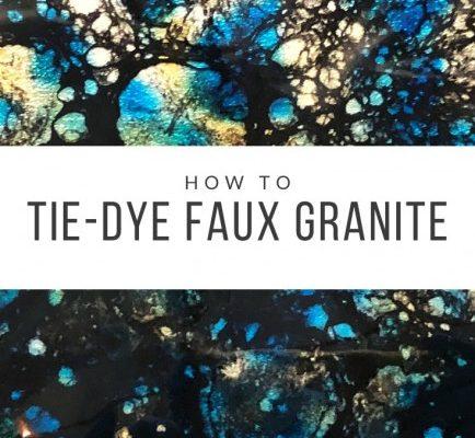 Tie Dye Granite