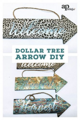 Dollar Tree Arrow DIY