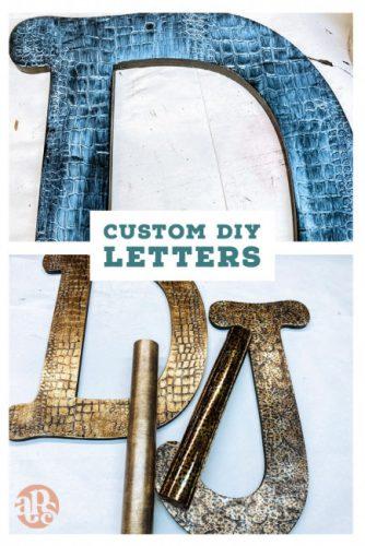 Custom Letter DIY